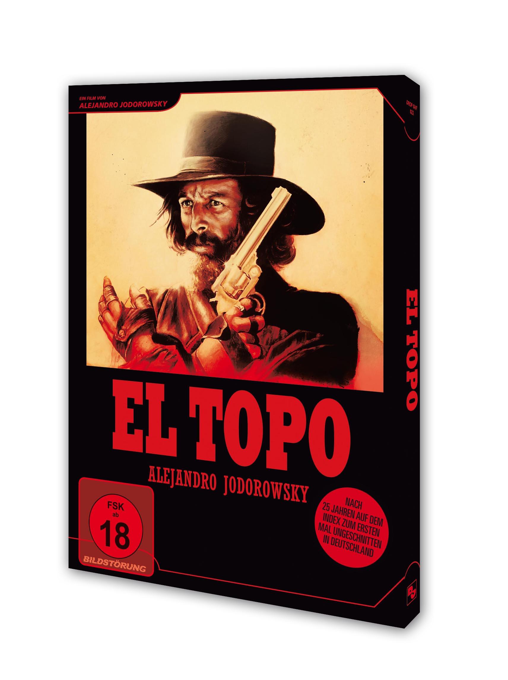 EL TOPO  DVD Packshot
