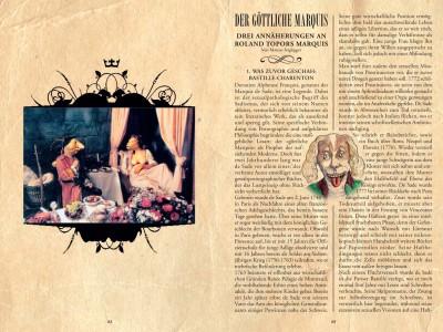 Das Booklett – Seite 1-2