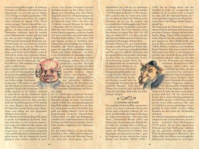 Das Booklett – Seite 3-4