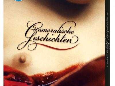 Artwork der Blu-ray von Unmoralische Geschichten