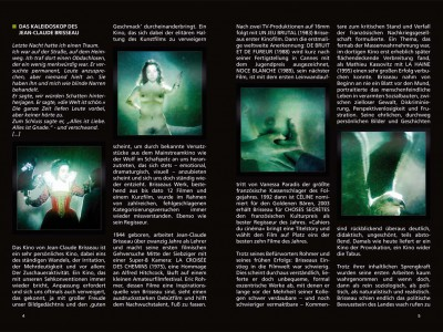 Ausschnitt aus dem Booklet